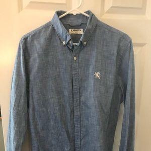 Express Light Blue Shirt Medium